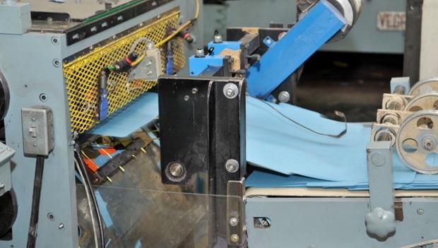folder machine in manufacturing