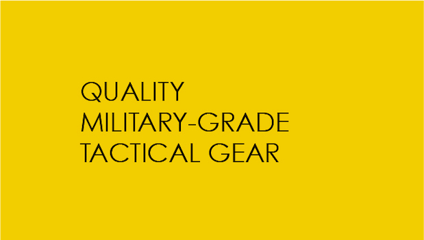 Military Grade Tactical Gear Image