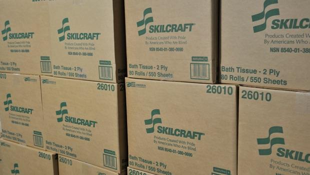 Skillcraft cardboard boxes