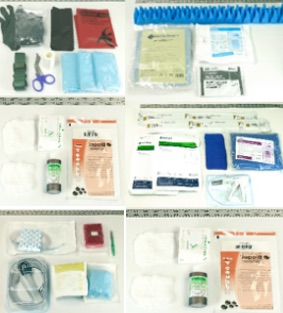 components of a medical kit