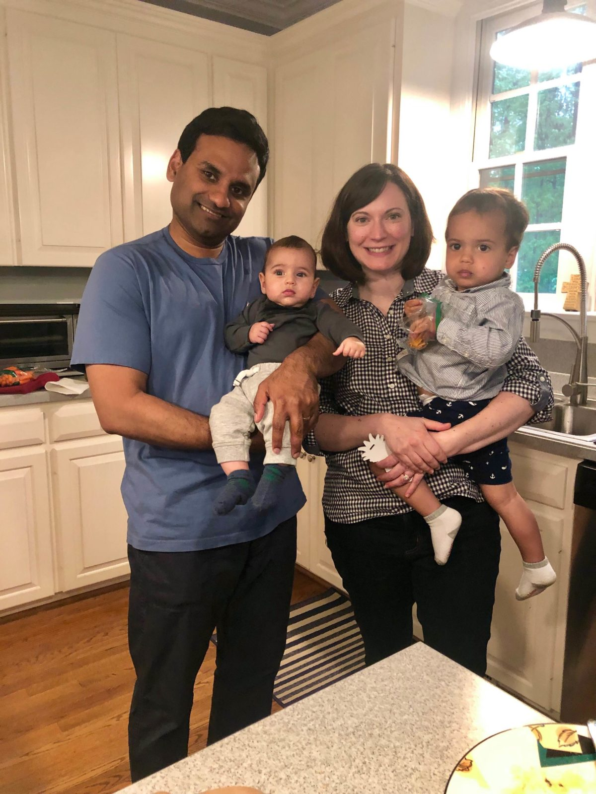 picture of john Samuel with his family